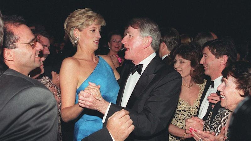Diana dazzled Sydney's social set at a 1996 charity dinner but felt a virtual prisoner in her room.