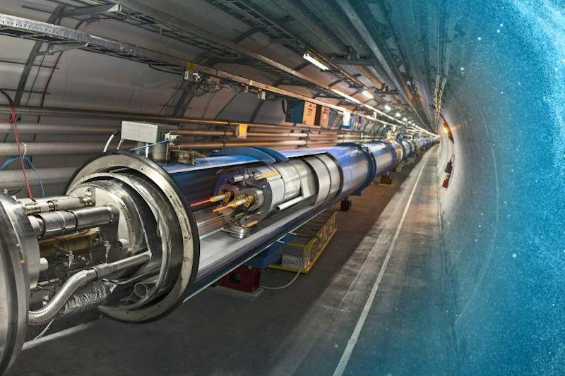 China has plans to build a particle collider that's over triple the size of CERN's LHC