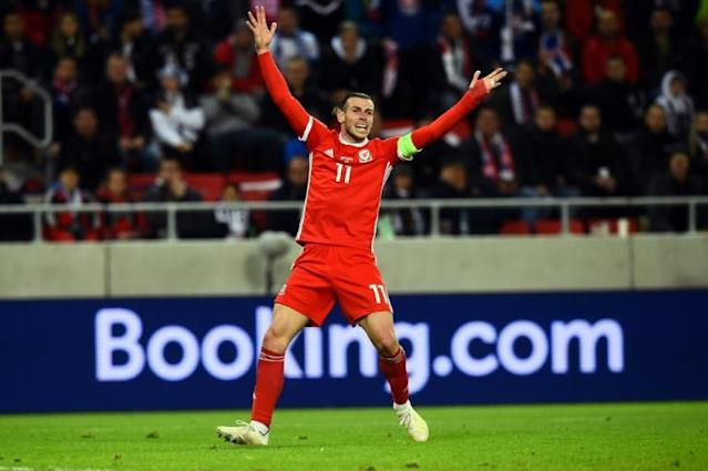 Wales forward Gareth Bale admits he was lucky to avoid a red card against Slovakia (AFP Photo/VLADIMIR SIMICEK)