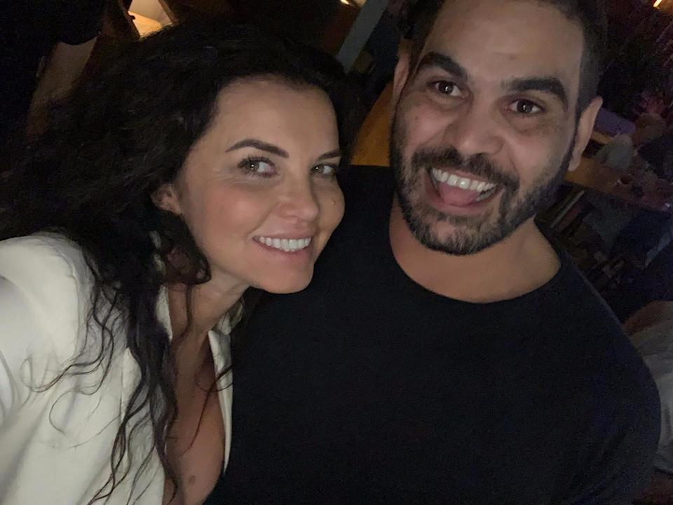 Suzi Taylor and retired NRL player Greg Inglis' weekend together in Queensland