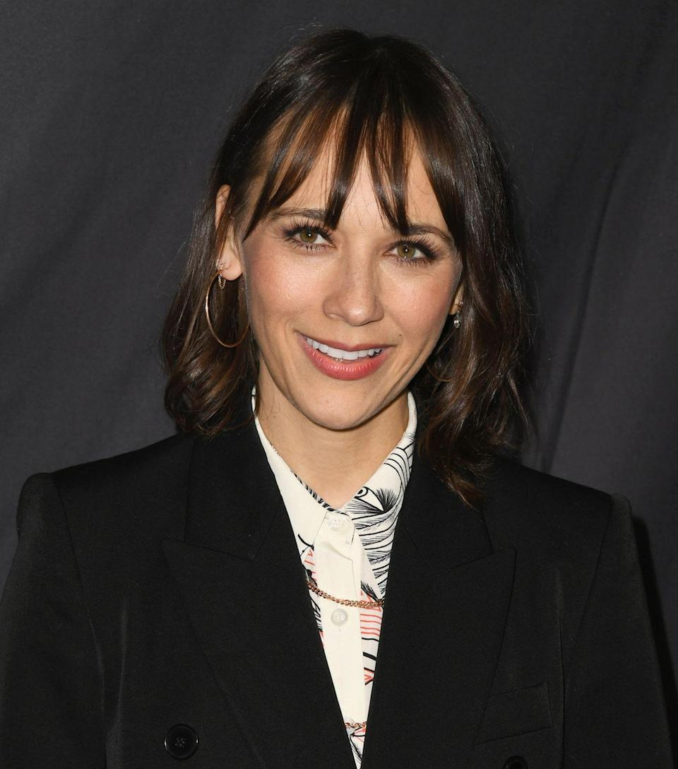 <p>Fitzsimons stresses that any length hair can work the wispy bang with the right texture. Case in point: Rashida Jones, who has worn her hair everywhere from a shorter bob to past her shoulders, but always has bangs to balance out her look.</p>