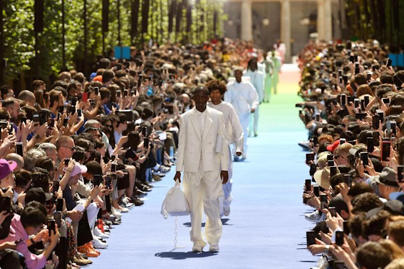 Louis Vuitton spring/summer 2019 show (AFP/Getty Images)