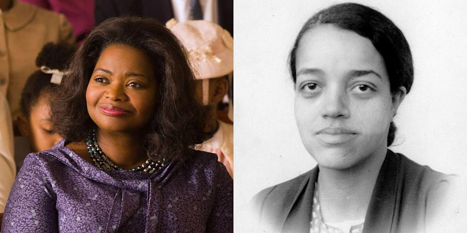 <p>Dorothy Vaughn was NASA's first African-American manager. Vaughn is one of the three main women in the 2017 film <em>Hidden Figures</em>, in which she was played by award-winning actress Octavia Spencer. </p>