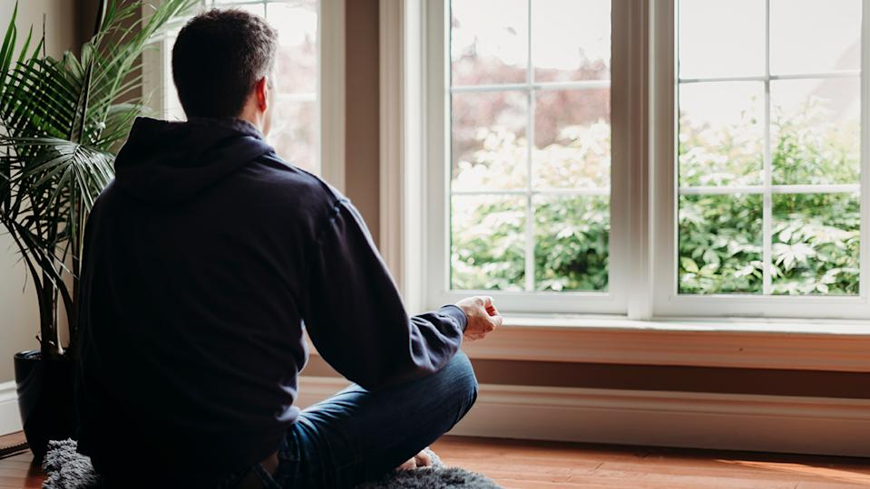 Just a couple of minutes of meditation every day can help boost your mental wellbeing (Image: Getty Images)