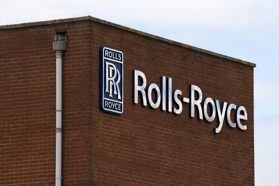Rolls-Royce factory in Filton, in Bristol, United Kingdom. Photo: Matthew Horwood/Getty Images