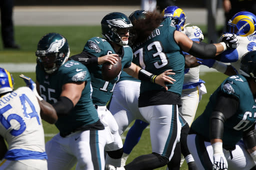 Adversity comes early this year for Eagles, now 0-2