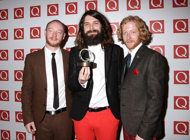 Ah we do love Biffy Clyro, and we were pleased to see that they won the award for Best Live Act. We need tickets. Now.