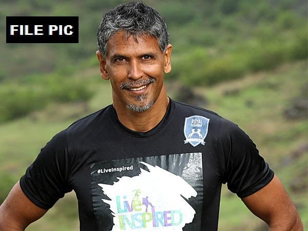 Model-actor-fitness promoter Milind Soman