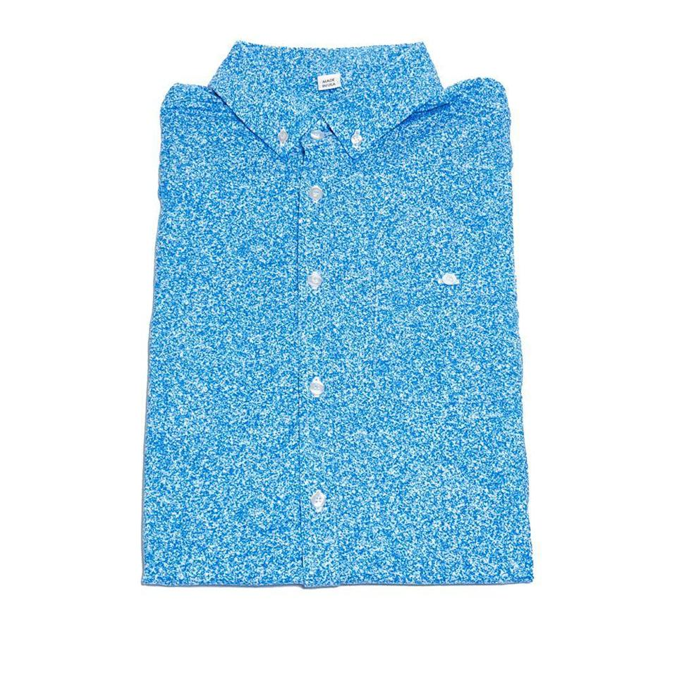 """<p>shortstevebd.com</p><p><strong>$89.00</strong></p><p><a href=""""https://shortstevebd.com/collections/shop-page/products/blue-heather?variant=20674256076911"""" rel=""""nofollow noopener"""" target=""""_blank"""" data-ylk=""""slk:BUY IT HERE"""" class=""""link rapid-noclick-resp"""">BUY IT HERE</a></p><p>Yes, you can purchase golf shirts from huge corporate companies. But you can also shop small from this Brooklyn designer, whose vibrant shirts are not only stylish, but super breathable and optimal for warm-weather days spent out on the course.</p>"""