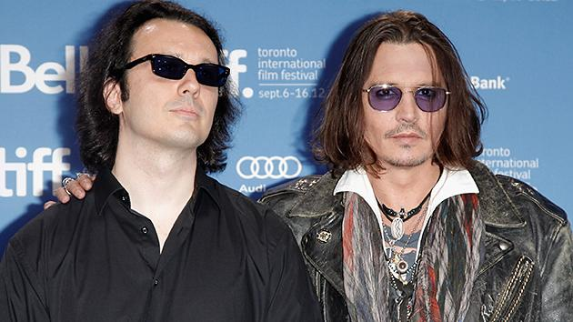 Damien Echols and Johnny Depp