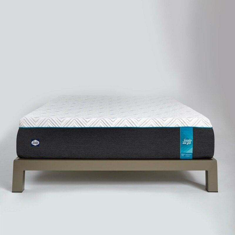 "<h2>12"" Plush Memory Foam Mattress<br></h2><br><strong>Discount:</strong> 62% off<br><br><strong>The Hype: </strong>4.7 out of 5 stars and 1,389 reviews<br><br><strong>Deal Hunters Say: </strong>""The right amount of plush and support! I researched mattresses for hours and hours. Making a decision was so hard because comfort is so subjective. This mattress is perfect for any sleep position. I'm mostly and side and stomach sleeper, as is my husband, but it's very comfortable for laying on my back and watching a movie too.""<br><br><em>Shop </em><strong><em><a href=""https://fave.co/38Rfi57"" rel=""nofollow noopener"" target=""_blank"" data-ylk=""slk:Sealy"" class=""link rapid-noclick-resp"">Sealy</a></em></strong><br><br><strong>Sealy</strong> 12"" Plush Memory Foam Mattress, $, available at <a href=""https://go.skimresources.com/?id=30283X879131&url=https%3A%2F%2Ffave.co%2F3lFVZiW"" rel=""nofollow noopener"" target=""_blank"" data-ylk=""slk:Wayfair"" class=""link rapid-noclick-resp"">Wayfair</a>"