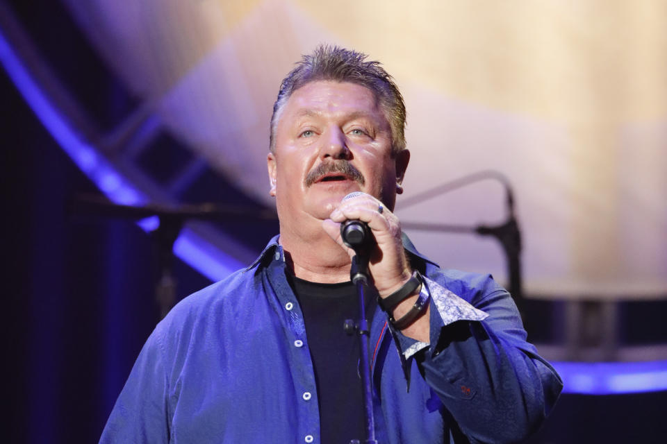 Joe Diffie performs at the 12th Annual ACM Honors at the Ryman Auditorium on Wednesday, August 22, 2018 in Nashville, Tenn. (Photo by Al Wagner/Invision/AP)