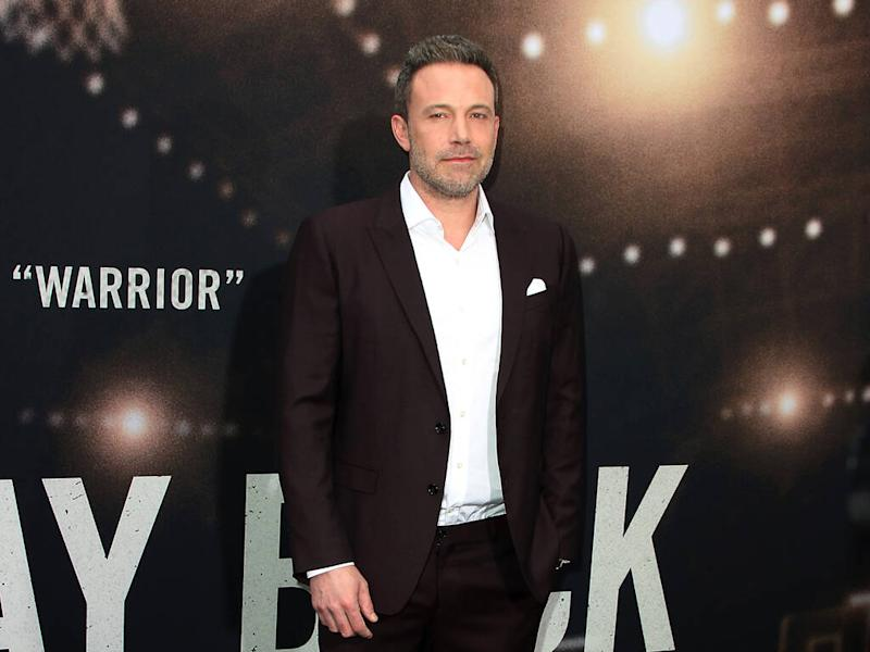 Ben Affleck accompanied to The Way Back set by 'sober liaison'