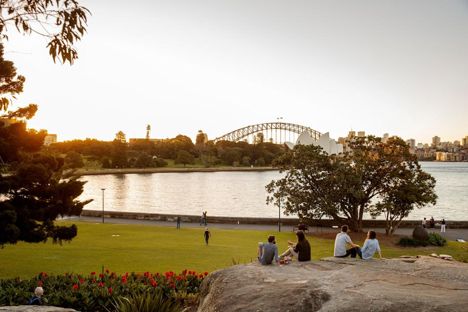 """<p><strong>Let's start big picture. What's the vibe here?</strong></p> <p>One of Sydney's most gorgeous green spaces, The Royal Botanic Garden has a central location to die for. How do views of neighboring <a href=""""https://www.cntraveler.com/activities/sydney/sydney-opera-house?mbid=synd_yahoo_rss"""" rel=""""nofollow noopener"""" target=""""_blank"""" data-ylk=""""slk:Sydney Opera House,"""" class=""""link rapid-noclick-resp"""">Sydney Opera House,</a> Sydney Harbour and the city skyline grab you? Australia's oldest botanical garden, founded in 1816, it's a leafy, 74-acre oasis adorned with ornamental plants, rolling lawns, and ancient trees, with a mix of native and international species. Admire the flora and fauna or just enjoy this verdant spot for a picnic, stroll or serene time out.</p> <p><strong>Let's start big picture. What's the vibe here?</strong></p> <p>One of Sydney's most gorgeous green spaces, The Royal Botanic Garden has a central location to die for. How do views of neighboring Sydney Opera House, Sydney Harbour and the city skyline grab you? Australia's oldest botanical garden, founded in 1816, it's a leafy, 74-acre oasis adorned with ornamental plants, rolling lawns, and ancient trees, with a mix of native and international species. Admire the flora and fauna or just enjoy this verdant spot for a picnic, stroll or serene time out.</p> <p><strong>Any standout features or must-sees?</strong></p> <p>You'll find fabulous flowers, plant-packed conservatories, and historic sculptures dotting the garden. For local attractions, check out the Australian Rainforest Garden, Australian Native Rockery, or The Bicentenary Garden, and the rare, recently rediscovered Wollemi Pine. Cadi Jam Ora shares native, Aboriginal plants and those brought from Europe by Britain's First Fleet. You'll also discover gardens devoted to tropical and oriental species, as well as palms, ferns, and herbs. Don't miss the Succulent Garden if you love succulents and cacti. For a vibrant living art gallery in a c"""