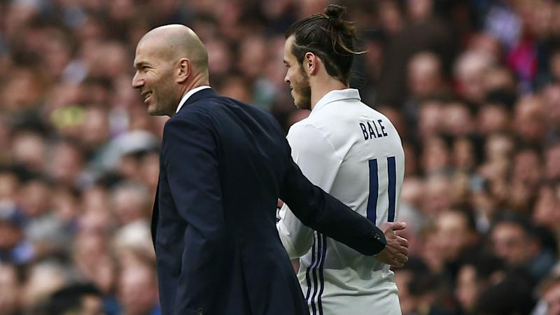 Zidane: I have no problems with spectacular Bale