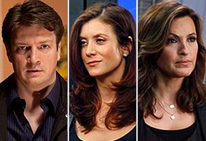 Castle, Private Practice, Law & Order: SVU | Photo Credits: Randy Holmes/ABC; Vivian Zink/ABC; Will Hart/NBC