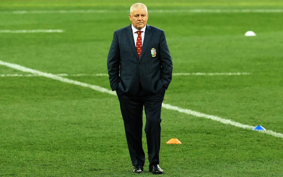 Warren Gatland is king of the mind games - GETTY IMAGES