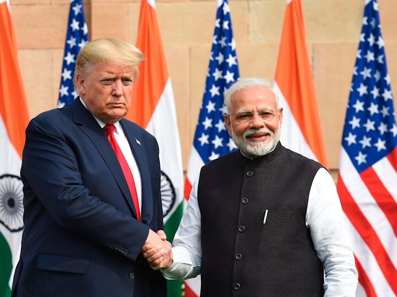 Donald Trump and Narendra Modi: Prakash Singh/AFP/Getty