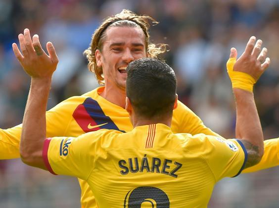 Barca's front three are finding their form (Getty)