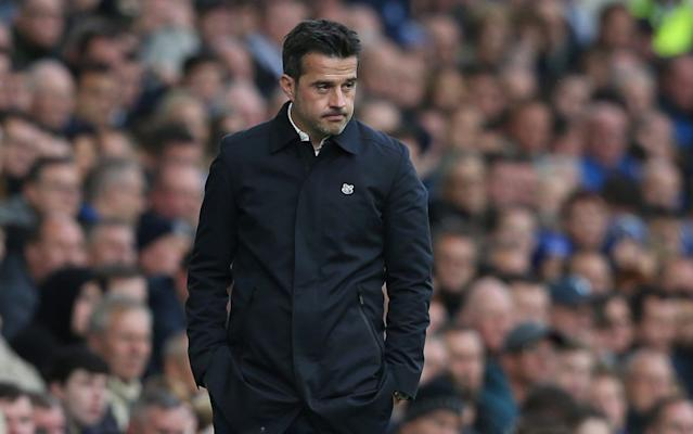 Marco Silva has said he is not nervous about losing his job as Everton manager after a run of poor form - CameraSport
