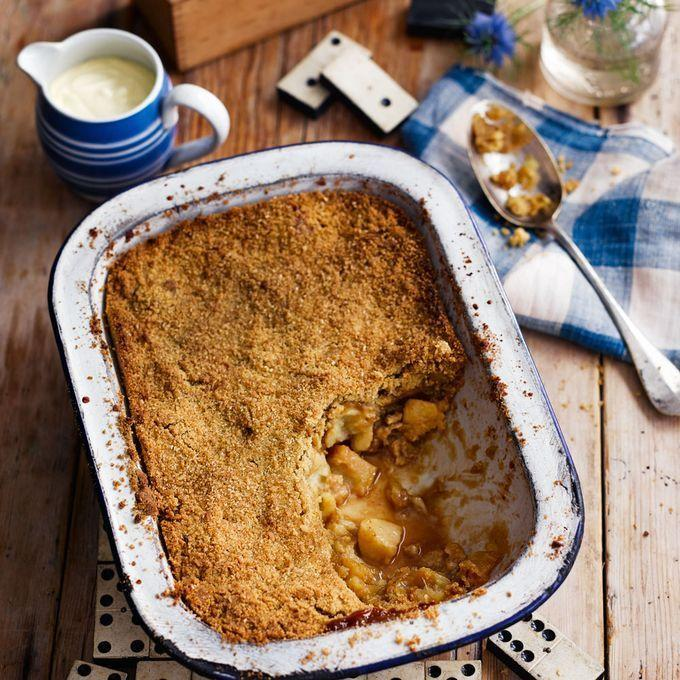 <p>A good fruit crumble is the perfect comfort food. </p><p>Whether it's a traditional apple filling, or a sharp, blackberry centre, fruit crumbles are the perfect winter-warming dessert.</p><p>And here are our favourites. From a flapjack topping, to apple crumble pots, to even a crumble ice-cream, here are 14 triple-tested crumble recipes you <strong><u>need</u></strong> to try.</p>