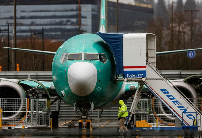 Boeing tells FAA it does not believe 737 MAX wiring should be moved: sources