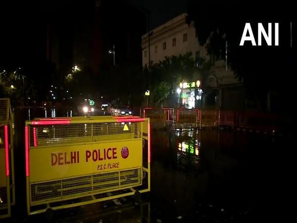 Visuals from Connaught Place, Delhi (Photo/ANI)