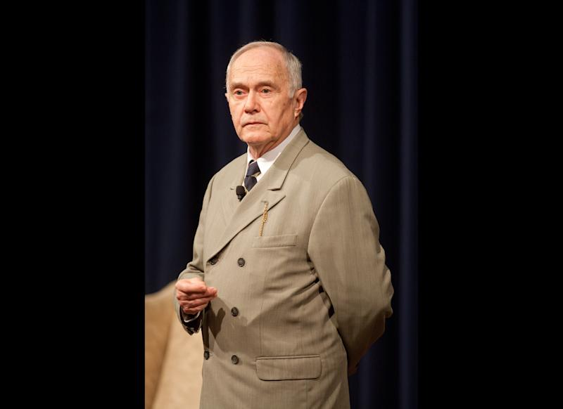 """Jim Cooke is a Massachusetts-based actor who performs one-man shows dedicated to Calvin Coolidge. Unlike other impersonators who perform comedy, Cooke calls what he does """"solo history."""" He first did Coolidge back in 1976 and felt there was more to him than the nonentity fostered by historians. """"As I read his speeches and autobiography I could hear a voice in my head; I liked the way it sounded,"""" Cooke said. """"I liked his honesty, humility and humor. Especially his humor -- Will Rogers said: 'Calvin Coolidge was one of the funniest public men I ever met!'"""