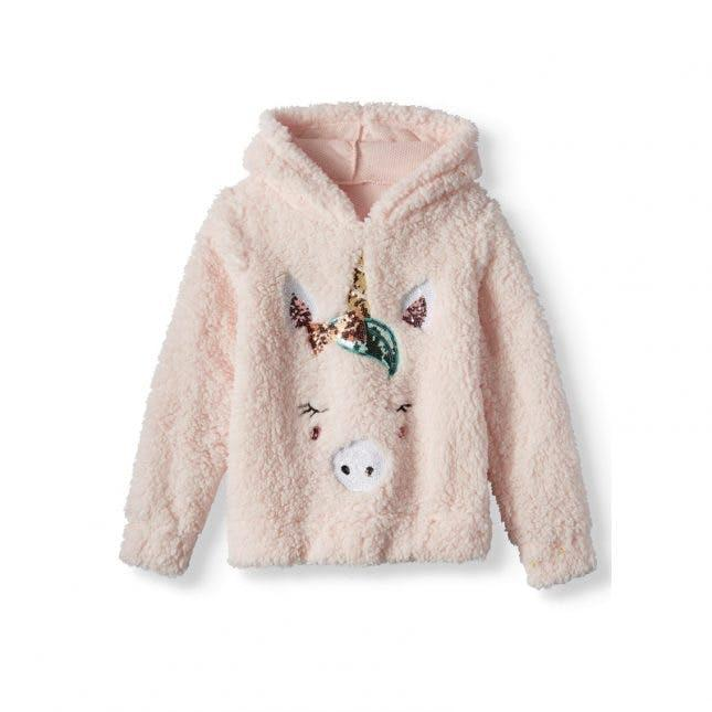 Miss Chievous Critter Plush Sherpa Hoodie