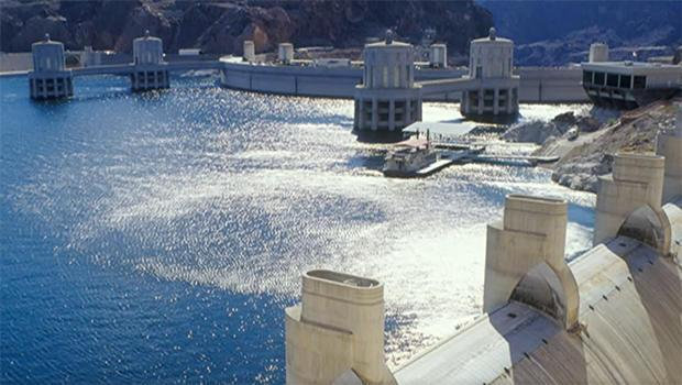 A view of the Hoover Dam in 2000. / Credit: U.S. Bureau of Reclamation