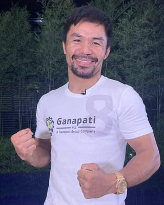 Ganapati is producing the official Manny Pacquiao slot game, with proceeds going to the Manny Pacquiao Foundation (PRNewsfoto/Ganapati PLC)