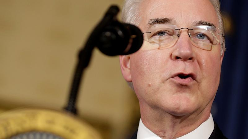 Tom Price Says He Thinks He Still Has Trump's Confidence