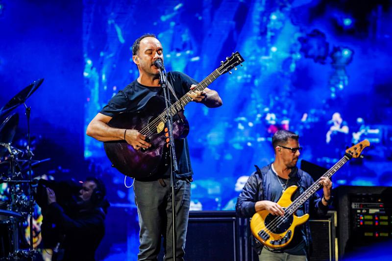 Dave Matthews and his band perform at the 2019 Rock in Rio Music Festival in the Olympic Park of Rio de Janeiro on Sept. 29.