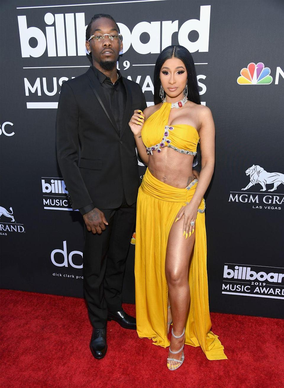 <p>Cardi B and Offset are becoming one of the most powerful couples in the music world. The rappers haven't always had the smoothest relationship—Cardi broke up with him after he allegedly cheated on her—but the two found a way to make it work. They married in 2017 and have a daughter together named Kulture. </p>