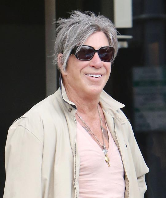 Mickey Rourke Looks Completely Different Again