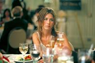 "<p>This movie about a cash-strapped, single woman in a friend group full of successful, married people is one of Aniston's best and most relatable roles. Anyone who has ever felt like the odd one out in their social circle will immediately identify with her...especially if it's a money thing. </p><p><a class=""link rapid-noclick-resp"" href=""https://www.amazon.com/Friends-Money-Jennifer-Aniston/dp/B000I8JEUG/ref=sr_1_2?tag=syn-yahoo-20&ascsubtag=%5Bartid%7C10063.g.36311626%5Bsrc%7Cyahoo-us"" rel=""nofollow noopener"" target=""_blank"" data-ylk=""slk:WATCH NOW"">WATCH NOW</a></p>"