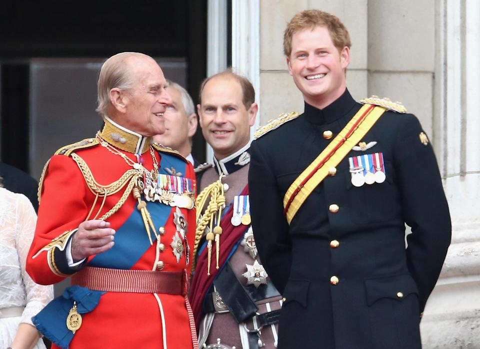 Prince Harry and Prince Philip (Chris Jackson / Getty Images)