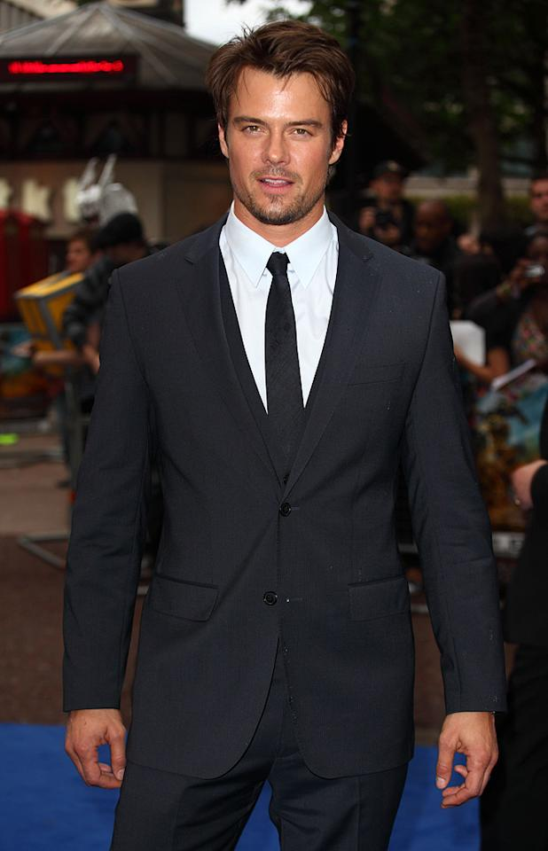 """<a href=""""http://movies.yahoo.com/movie/contributor/1804581818"""">Josh Duhamel</a> at the London premiere of <a href=""""http://movies.yahoo.com/movie/1809943432/info"""">Transformers: Revenge of the Fallen</a> - 06/15/2009"""
