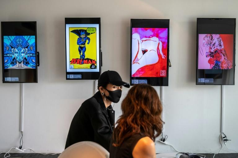 CrypTOKYO features around 150 non-fungible tokens (NFT) from several dozen artists, expected to sell for a few hundred dollars up to around $50,000