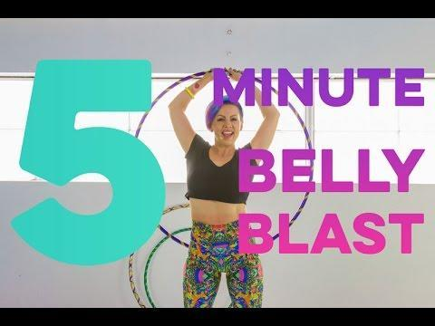 """<p>If you need something quick to do on your lunch break or first thing in the morning, this workout is a super fix. Only five minutes long, follow instructor Denna Love and hoop yourself happy. </p><p><a href=""""https://www.youtube.com/watch?v=w1DtjdV0Ink&ab_channel=DeanneLove"""" rel=""""nofollow noopener"""" target=""""_blank"""" data-ylk=""""slk:See the original post on Youtube"""" class=""""link rapid-noclick-resp"""">See the original post on Youtube</a></p>"""