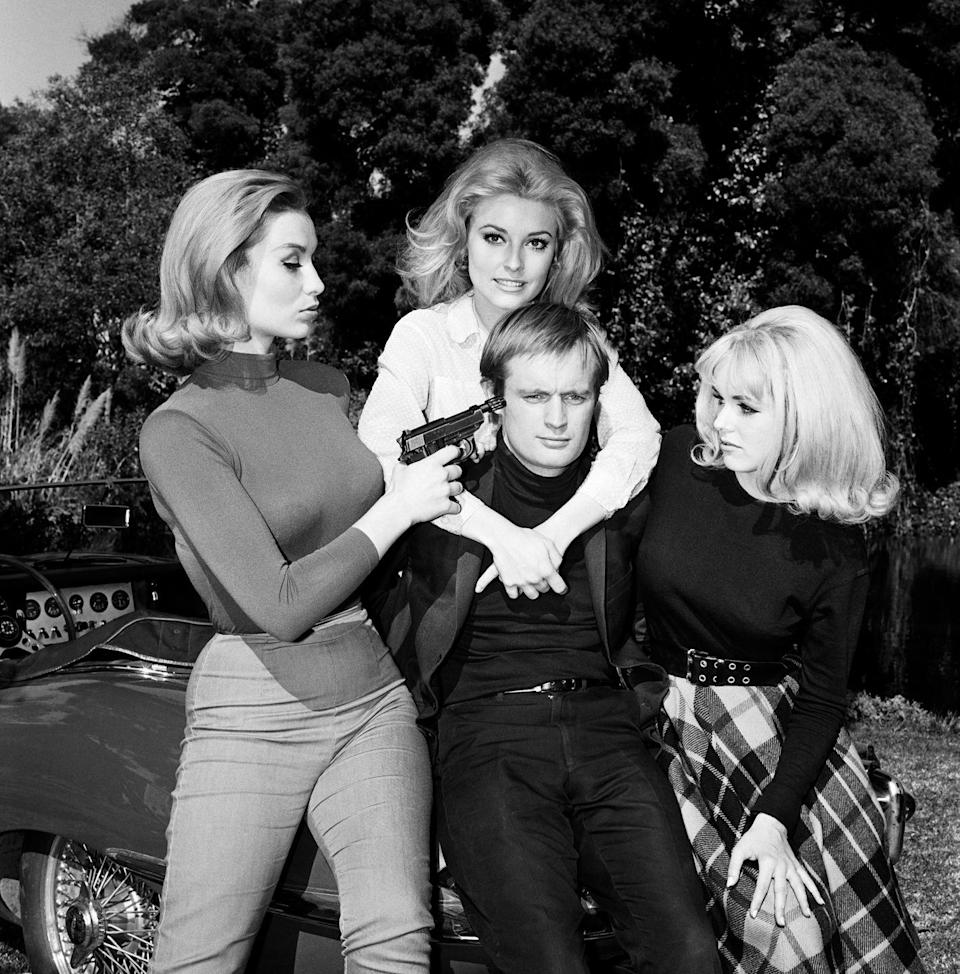 <p>On the brink of a blossoming film career, Tate returned to television for a guest appearance on the hit show, <em>Man from U.N.C.L.E. </em>starring David McCallum. in 1965.</p>