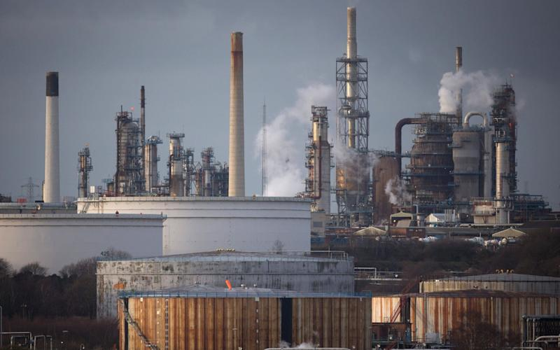 ExxonMobil's Fawley refinery - Getty Images