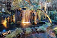 <p>The gardens are inspired by The Palace of Versailles in Paris. They feature a tiered, three-level garden lined with indigenous, mature sequoia trees, golden spruce, maples and many other varieties. There's also a hobby orchard and 12,000 flowers.</p> <p>(Sotheby's International Realty Canada)</p>