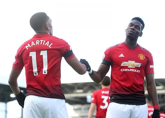Paul Pogba and Anthony Martial are going to be problems for PSG. (Evening Standard)