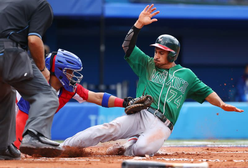 Baseball - Men - Opening Round - Group A - Mexico v Dominican Republic