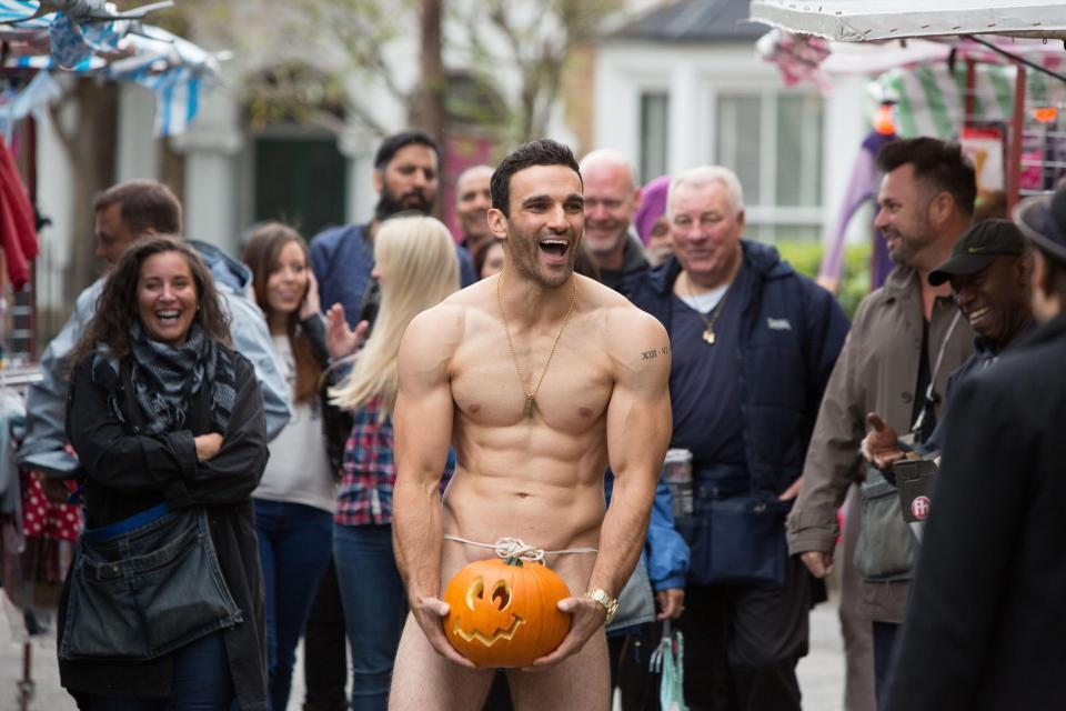 Davood regularly gets his kit off in EastEnders. Copyright: [BBC]