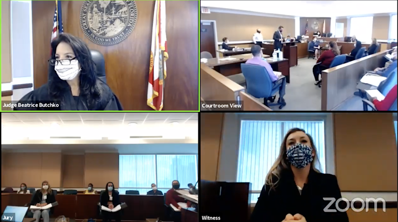 Jury selection via Zoom: First Miami-Dade case is a glimpse of court in the coronavirus era