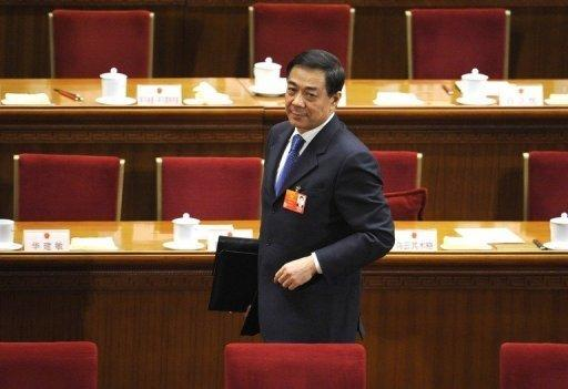 Bo Xilai had been tipped for a seat on China's powerful nine-member Politburo Standing Committee