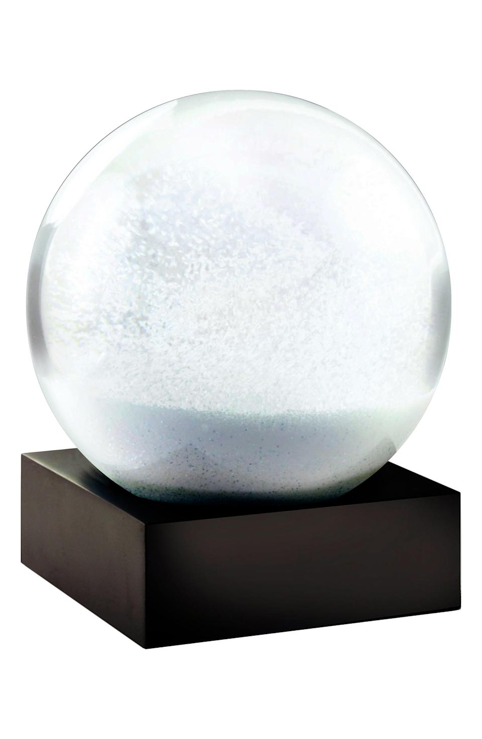 "<p><strong>COOLSNOWGLOBES</strong></p><p>nordstrom.com</p><p><strong>$27.00</strong></p><p><a href=""https://go.redirectingat.com?id=74968X1596630&url=https%3A%2F%2Fwww.nordstrom.com%2Fs%2Fcoolsnowglobes-snowball-globe%2F5793147&sref=https%3A%2F%2Fwww.redbookmag.com%2Fhome%2Fg35091289%2Fcoffee-table-decor%2F"" rel=""nofollow noopener"" target=""_blank"" data-ylk=""slk:SHOP IT"" class=""link rapid-noclick-resp"">SHOP IT</a></p><p>You probably had snow globes in your room when you were a kid. This one is a thoroughly modern update to the classic holiday piece. </p>"