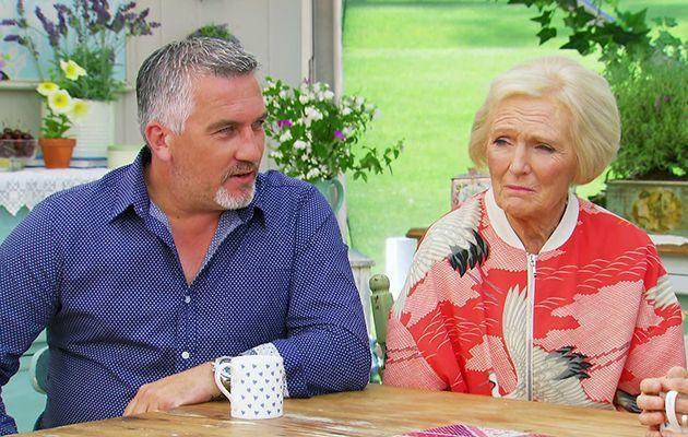 <p>The jacket that started it all. After Mary was spotted wearing this stork print bomber on an episode of GBBO, the M&S jacket sold out online within hours.</p><p><i>[Photo: BBC]</i></p>
